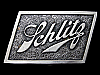 LC11131 VERY NICE VINTAGE 1975 ***SCHLITZ BREWING COMPANY*** BEER BELT BUCKLE