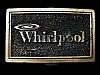 LC17127 VINTAGE 1976 ***WHIRLPOOL*** APPLIANCES COMPANY BELT BUCKLE