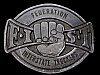 LC27142 VINTAGE 1978 ***FEDERATION OF INTERSTATE TRUCKERS*** BELT BUCKLE