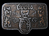 LC29105 VINTAGE 1970s ***COORS BANQUET BEER*** (ADOLPH COORS COMPANY) BUCKLE