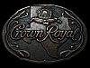 LC29145 VINTAGE 1980s ***CROWN ROYAL TEXAS*** BOOZE BELT BUCKLE