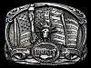 LF13156 VINTAGE 1985 **THE STATUE OF LIBERTY** THE FLAME OF FREEDOM BELT BUCKLE