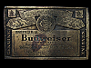 LF29140 COOL VINTAGE 1979 ***GENUINE BUDWEISER KING OF BEERS*** BEER BELT BUCKLE