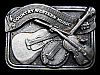 LG05135 GREAT VINTAGE 1984 **COUNTRY WESTERN MUSIC** COMMEMORATIVE BELT BUCKLE