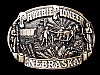 LG15154 VINTAGE 1994 **PRAIRIE PIONEER NEBRASKA** COMMEMORATIVE BELT BUCKLE