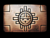 REALLY NICE VINTAGE 1970s TRADITIONAL SOUTHWESTERN DESIGN BELT BUCKLE