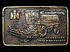 LG23172 VINTAGE 1978 **INTERNATIONAL AXIAL-FLOW COMBINE** IH TRACTOR BELT BUCKLE
