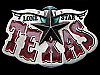 LG29153 VERY COOL VINTAGE 1980 **LONE STAR - TEXAS** SOUVENIR BELT BUCKLE