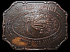 LH13144 GREAT VINTAGE 1970s ***SOUTHERN COMFORT*** UNDER YOUR BELT BOOZE BUCKLE