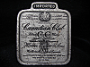 LH15151 VINTAGE 1975 ***CANADIAN CLUB WHISKEY*** BOOZE BELT BUCKLE