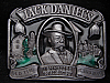 LH15160 VINTAGE 1989 **JACK DANIEL'S** HAND MADE TENNESSEE WHISKEY BOOZE BUCKLE