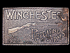 LK03125 VINTAGE 1970s ***WINCHESTER REPEATING ARMS*** GUN MFG. BELT BUCKLE
