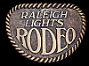 LK03152 REALLY NICE VINTAGE 1970s ***RALEIGH LIGHTS RODEO*** BELT BUCKLE
