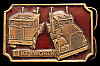 LK06122 COOL VINTAGE 1977 ***KENWORTH*** CABOVER LONG NOSE TRUCKS BUCKLE
