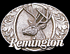 LK06189 GREAT VINTAGE 1994 ***REMINGTON FIREARMS*** BIG BUCK DEER GUN BUCKLE