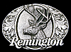 LK06190 NICE VINTAGE 1994 ***REMINGTON FIREARMS*** BIG BUCK DEER GUN BUCKLE