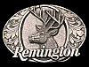 LK06192 AWESOME VINTAGE 1994 ***REMINGTON FIREARMS*** BIG BUCK DEER GUN BUCKLE