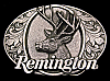 LK06194 *UNUSED* VINTAGE 1994 ***REMINGTON FIREARMS*** BIG BUCK DEER GUN BUCKLE