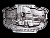 LK05137 VINTAGE 1988 INTERNATIONAL HARVESTER CLASSICS (8300 TRACTOR) BELT BUCKLE