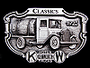 LK05145 **NOS** VINTAGE 1987 ***KENWORTH*** CLASSICS 1925 MODEL BELT BUCKLE