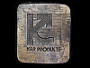 LK15103 VINTAGE 1980 *****KAR PRODUCTS***** COMPANY BELT BUCKLE