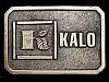 LK15140 **NOS** VINTAGE 1970s ***KALO LABS - KANSAS CITY, MO*** BELT BUCKLE