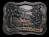 LK15164 VINTAGE 1979 ***ALASKA - THE GREAT LAND*** SOUVENIR BELT BUCKLE