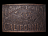 LL05124 VINTAGE 1970s ***UNION & CENTRAL PACIFIC RAILROAD LINE*** BELT BUCKLE