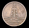 AWESOME 1970s ***LORD DRILLING COMPANY*** OIL DERRICK OILFIELD BUCKLE