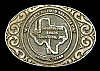 AWESOME 1970s ***SOUTHWEST TEXAS SERVICES, INC.*** LAREDO, TX OILFIELD BUCKLE