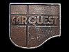 LL13138 VINTAGE 1977 CAR QUEST (AUTO PARTS) BELT BUCKLE