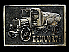 LL27114 **NOS** VINTAGE 1976 KENWORTH (ANTIQUE TRUCK) BELT BUCKLE