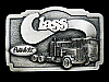 LL27146 VINTAGE 1985 PETERBILT CLASS TRUCKS BELT BUCKLE