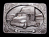 LL31163 VINTAGE 1991 INTERNATIONAL 9000 SERIES TRUCK BELT BUCKLE