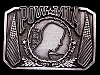 MA01105 VINTAGE 1990s POW-MIA YOU ARE NOT FORGOTTEN MILITARY BELT BUCKLE