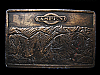 MA05121 VINTAGE 1973 ASPEN COLORADO SOUVENIR BELT BUCKLE