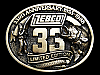 MA07126 VINTAGE 1988 ZEBCO 33RD ANNIVERSARY LIMITED EDITION BELT BUCKLE