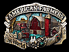MA09162 VINTAGE 1984 AMERICAN FARMERS FEED THE WORLD BELT BUCKLE