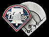 MA17165 VINTAGE 1995 **PHILADELPHIA PHILLIES BASEBALL** SPORTS BELT BUCKLE