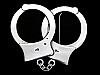 MA21118 REALLY NICE CUT-OUT ***HANDCUFFS*** BELT BUCKLE