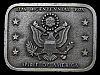 MA21121 VINTAGE 1976 BICENTENNIAL SPIRIT OF AMERICA BELT BUCKLE