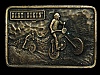 MA31160 VINTAGE 1976 *DIRT BIKIN'* MOTOCROSS BELT BUCKLE