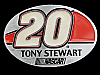 MB01124 **NOS** TONY STEWART #20 NASCAR RACING BELT BUCKLE