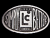 MB07128 VINTAGE 1970s LIQUID CONTROLS SIMPLY BETTER BELT BUCKLE