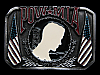 MB11106 **NOS** POW MIA YOU ARE NOT FORGOTTEN MILTARY BELT BUCKLE