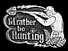MB11132 **NOS** VINTAGE 1978 I'D RATHER BE HUNTING BELT BUCKLE