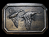 MB15105 VINTAGE 1976 *****FLYING GEESE***** BELT BUCKLE
