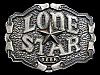 MB17137 VINTAGE 1975 ***LONE STAR BEER*** (REAR BOTTLE OPENER) BELT BUCKLE