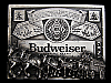 MB19120 VINTAGE 1970s BUDWEISER KING OF BEERS (CLYDESDALES) BEER BELT BUCKLE