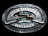 MB19124 VINTAGE 1989 JACK DANIEL'S WHISKEY BOOZE BELT BUCKLE